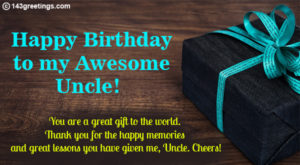 Birthday Wishes For Uncle