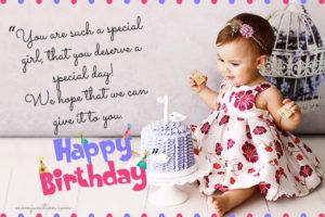 Superb Happy 1St Birthday 1St Birthday Invitations 1St Birthday Saying Personalised Birthday Cards Paralily Jamesorg
