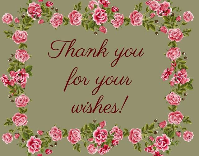 Thank You Wishes