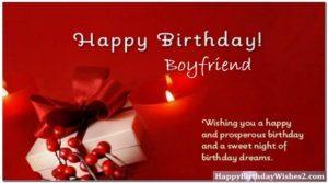 Birthday Wishes For Boyfriend Happy Birthday Wishes For Boyfriend
