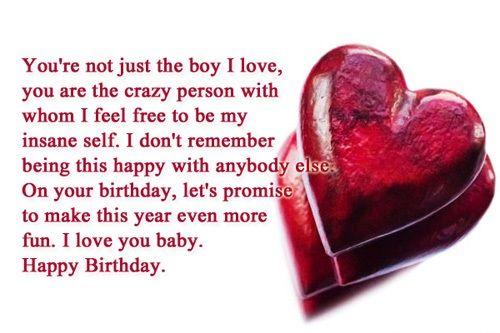 birthday wishes for boyfriend happy birthday wishes for